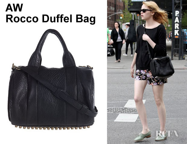 Rocco Duffel Bag Celebrity Style Stud Bottom Tote Mini Satchel Genuine Leather Handbags In Crossbody Bags From Luggage On