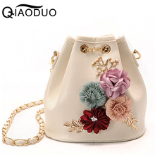 Ladsoul Women Messenger Bags Good Quality Women Shoulder Bag Ladies Chain Clutches Flower Women Crossbody Bags For Women A755/g