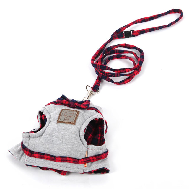 Elegant Cat Harness with Leash