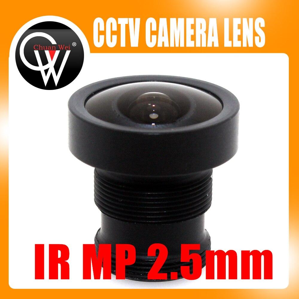 MP 2.5mm Objectif CCTV M12 Conseil Objectif 120 Degrés Pour CCTV Caméra de Sécurité Livraison Gratuite
