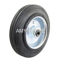 Replacement Store Rack Shopping Basket Cart Luggage 4 7 12cm 120x8x35mm Wheel 8mm Hole Rubber Alloy