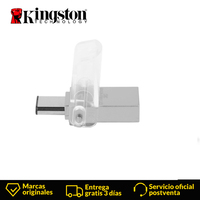 Kingston Technology DataTraveler unidad Flash USB Micro Duo 3C 64GB 3.0 (3.1 Gen 1)USB Type A connector 100 MB/s Cap white