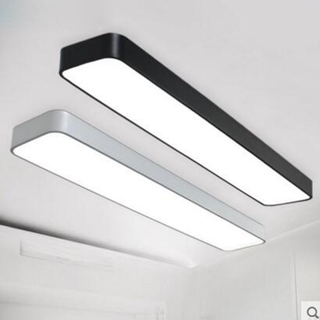 LED Office Ceiling Lamp Modern Minimalist Rectangular Balcony Aisle  Corridor Long Ceiling Lamps LED OFFICE Lighting