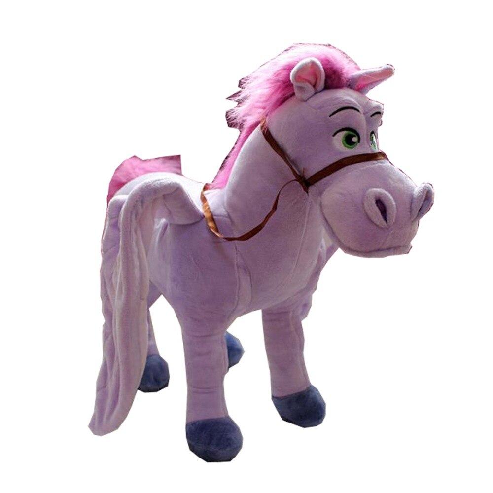 2017 Princess Sofia the First Minimus Flying Horse Plush Doll toy 35cm 2016 hot selling 22cm the first sofia princess dolls toys sophia clover cartoo toys rabbit plush doll