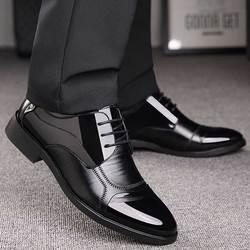 Negócios de luxo oxford sapatos de couro dos homens respirável de borracha formal vestido sapatos masculinos apartamentos casamento do escritório calçados mocassin homme