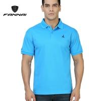 FANNAI Mannen Polo Shirt Zomer Sport heren Solid Shirts Golf Training Kledingstuk Sport Korte Mouw Tops T-stukken ademend
