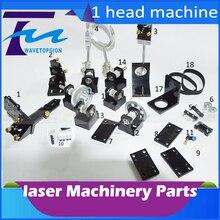 Cabeza DEL Laser Del CO2 Láser de CO2 Conjunto Piezas de Metal camino uso de corte por láser y máquina de grabado láser co2