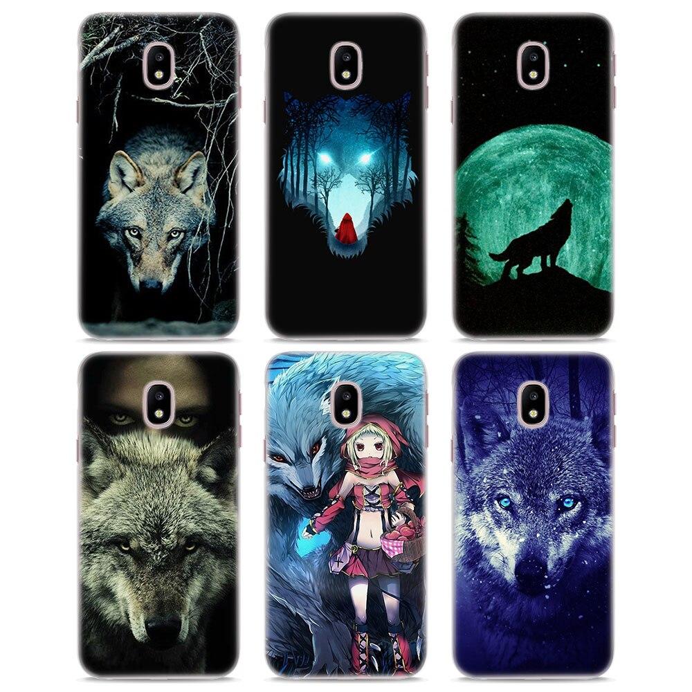 MOUGOL Большой плохой волк кожи жесткий прозрачный чехол для телефона для samsung J710 J7 J5 2017 J510 J2 премьер J3 J1 2016