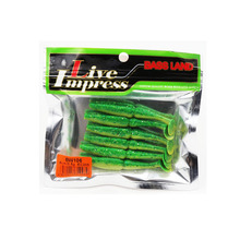 noeby soft lure bait waterproof and luminous 7-10cm 3.5-7g 5 colors avaliable nice gesture T tail brand hunt house