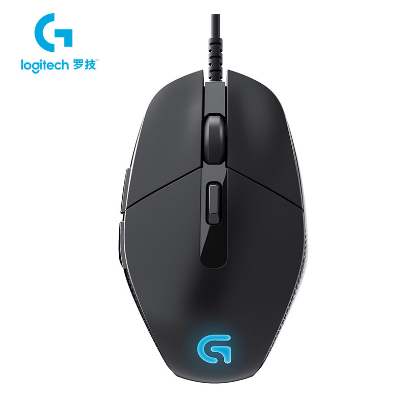 Logitech G302 Wired Gaming Mouse with Breathe Light 4000dpi USB Support Office Test for PC Game Windows10/8/7 + Free Gift logitech g102 wired mouse for windows 10 8 7 wired game mouse with 6000dpi optical rgb lights for pc desktop official genuine