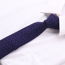 купить Slim Narrow necktie fashion brand tie 6 cm cotton Skinny group company tie fit for business wedding party gavata corbatas T04-21 дешево