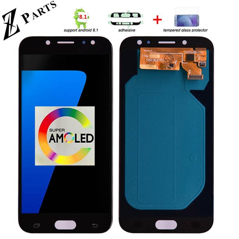 Оригинальный 5,5 ''AMOLED Дисплей для SAMSUNG Galaxy J7 Pro J730 ЖК-дисплей для SAMSUNG J7 2017 Дисплей Сенсорный экран планшета J730F
