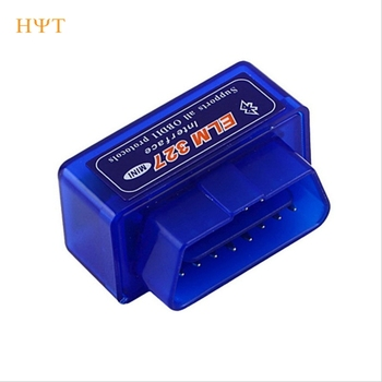 New Hot OBD V2.1 mini ELM327 OBD2 Bluetooth Auto Scanner OBDII 2 Car ELM 327 Tester Diagnostic Tool for Android Windows Symbian image