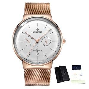 Image 5 - 女性の腕時計トップブランドの高級日本クォーツムーブメントステンレス鋼スライバー白ダイヤル防水腕時計レロジオ feminino