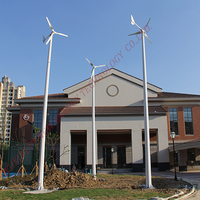 New Energy 2kw Household Wind Power Turbine Generators Out Put 96v On Grid / Off Grid Windmill With High Efficiency
