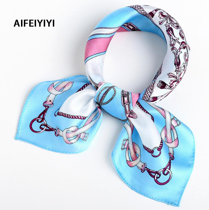 2018 Spring Professional Occasion Silk Squash Mulberry Scarf Joker Small Scarf