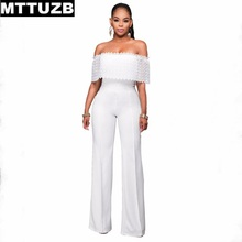 MTTUZB lady s sexy backless jumpsuits women s fashion lace patchwork bodycon rompers women s strapless