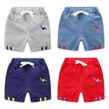 Новинка года, тонкие детские короткие штаны, одежда летние повседневные штаны для малышей Детские хлопковые шорты из конопли штаны с пятью точками для мальчиков и девочек