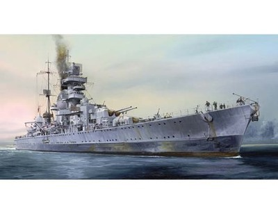 Trumpeter 05767 1/700 German Heavy cruiser Prinz Eugen 1945 plastic model kit
