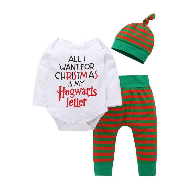 Verantwortlich Kinder Baby Jungen Infant Neugeborenen Kinder Kleidung Set 2018 Nette Mode 3 Stück Weihnachten Grid Hut + Langarm + Hosen Bodys Outfits Festsetzung Der Preise Nach ProduktqualitäT