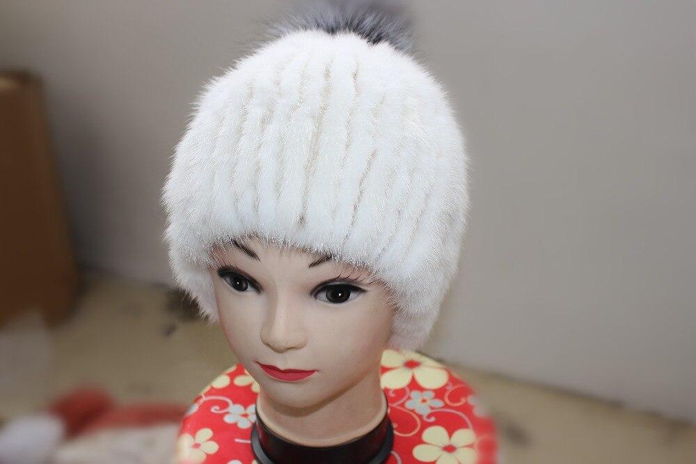 Linhaoshengyue visón sombrero Del casquillo Del Oído 2016 freeshopping  mujeres 738c23b7356