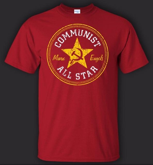 2019 Summer Brand Summer Cotton T-Shirt Fashion Communist T-Shirt - New streetwear Tee shirt