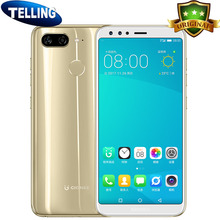 "Gionee S11 Mobile Phone Android 7.1 4G LTE Helio P23 Octa Core 4+64G 5.99"" 16:9 Full Screen 3D Selfie 16MP 4 Cameras Curved Body(China)"