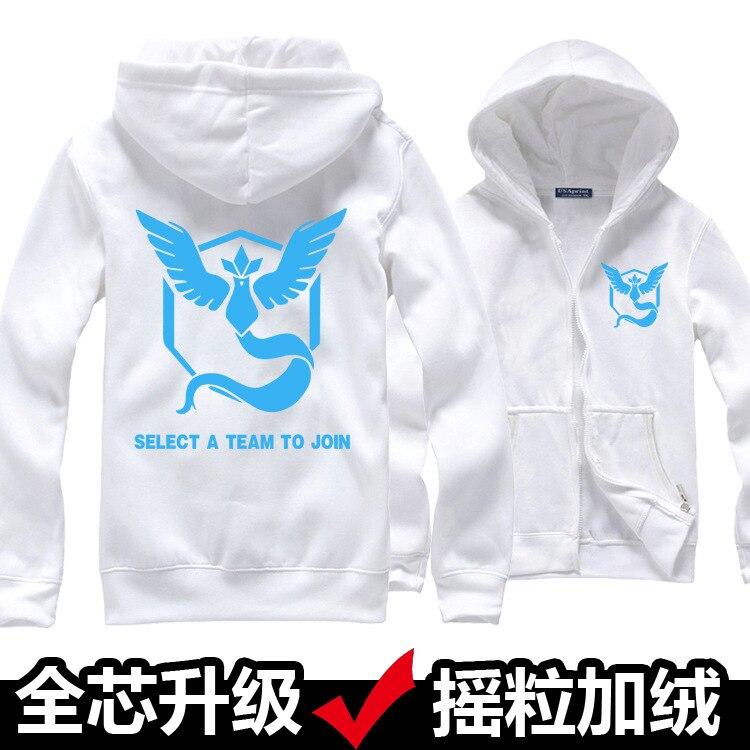 6 Survêtement 3 1 Polaire Chaud Zipper 10 Hoodies Anime 8 10 Mystic Sweat Pokemon Shell Couleurs 2 9 5 Doux D'hiver Veste Go 7 Manteau 4 Uq61Fq
