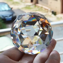 Faceted Crystal Feng Shui Ball 6cm