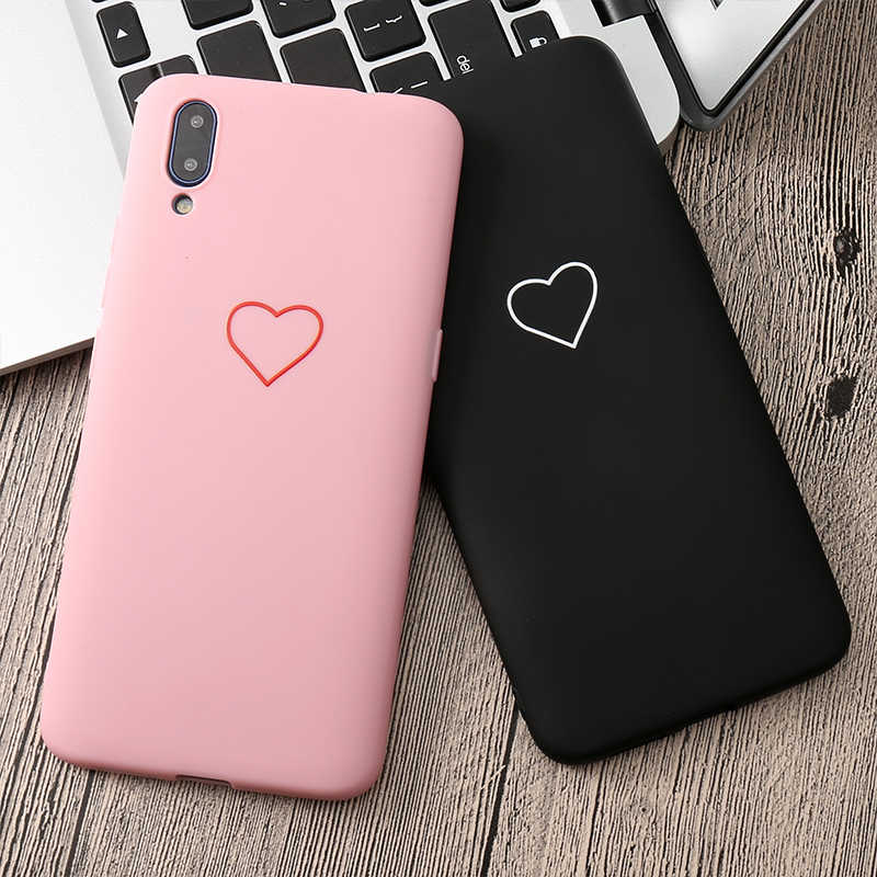 Cute 3D Silicone Love Heart Case For Huawei Mate 20 Pro 20X P20 Pro P20 lite 7A Pime Y5 Y6 Y9 2018 Honor 8C 9i 10 play 8X 8A