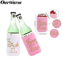 OurWarm 12pcs Night Hen Party Drink Coozies Can Cooler Sleeve Bride To Be Supplies Cute Gifts for Beach Bachelorette