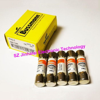 New and original FNQ-2 Time-delay Supplemental fuses 2A  500V  10*38mm