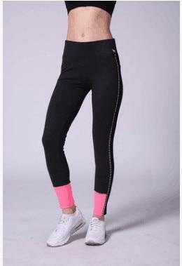 2017Fashion Fitness Leggings For Woman VS PINK Leggings Pants Women Pink Capris for pencil Trousers Women Quick-drying Plus Size