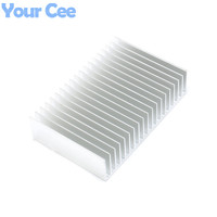 1 Pc 180 120 44 5mm Heatsink Cooling Fin Aluminum Radiator Cooler Heat Sink For LED
