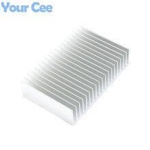 1 pc 182*120*44.5mm צלעות קירור קירור סנפיר אלומיניום רדיאטור Cooler גוף קירור עבור LED, כוח IC טרנזיסטור, מודול 182*120*44.5mm