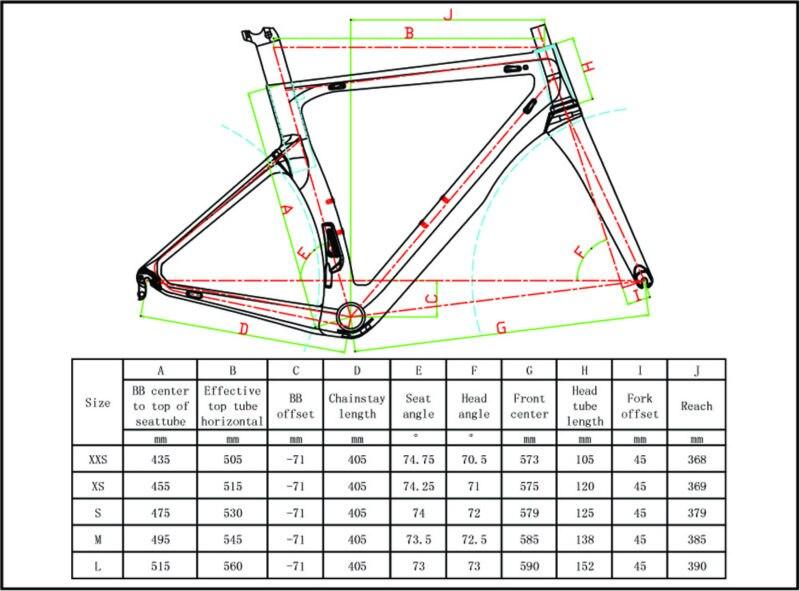 size chart 1k