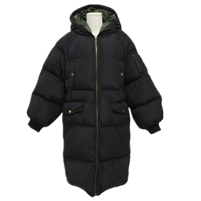 Длинное пальто женская куртка новая Толщиной вниз хлопка мягкий толстый пальто ветровка Женщин Вниз Пальто Куртка Большой Размер Плюс Размер м ~ XXXXL