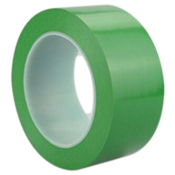 Hot sale Self-Adhesive PVC Lane & Aisle Marking Floor Tape Safety Tape, 50mm*33m Green