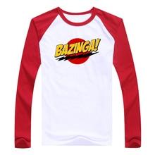 BAZINGA! baseball / jersey t-shirt (7 colors available)