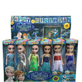 New Arrival Mini girls Elsa Dolls Elsa Anna Princess Kids Toys cartoon dolls best Gift Anna Elsa dolls toys for Girls Juguetes