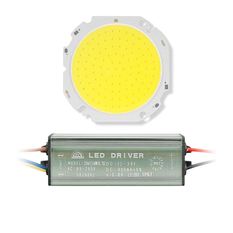 Aliexpress.com : Buy 1 Set LED COB Chip+Driver 30W 50W