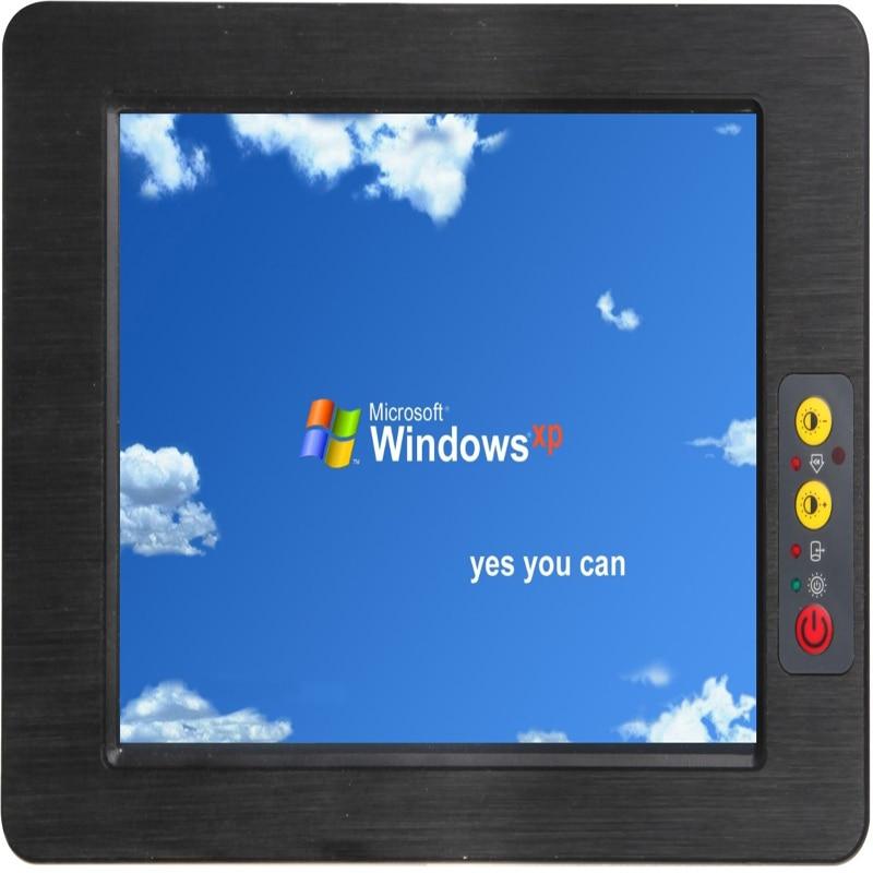 Le plus récent tout en un pc sans ventilateur 15 pouces avec 5 xcom avec intel atom N2800 CPU tablette tactile industrielle pc