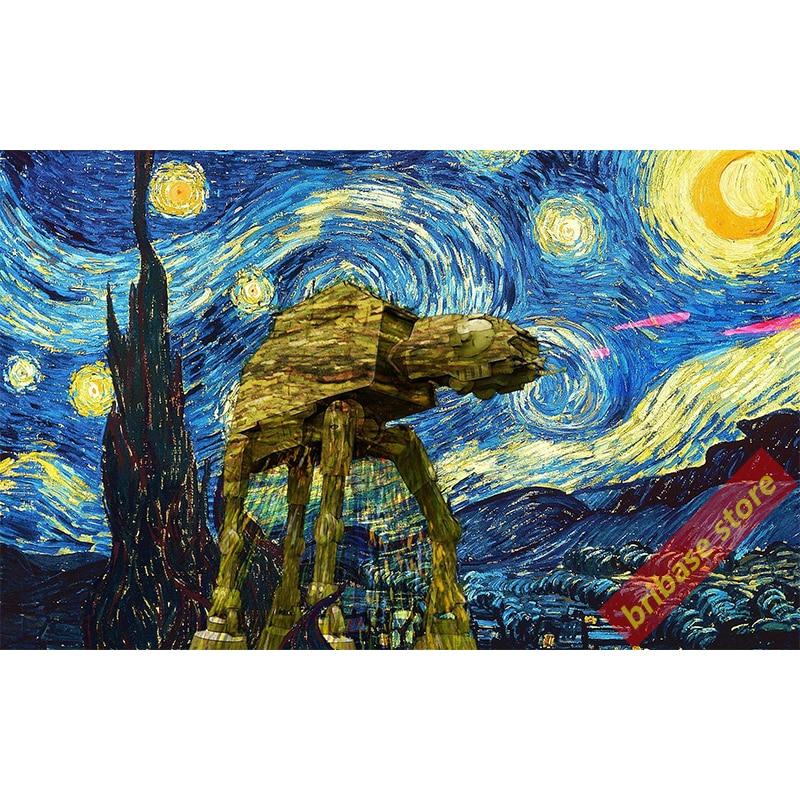 Vincent Van Gogh Starry Night Poster 60x33cm 110x60cm