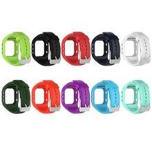 10 видов цветов SmartWatch Бретели для нижнего белья Мягкий силиконовый ремешок Замена с пряжкой для Polar A300 Смарт-часы