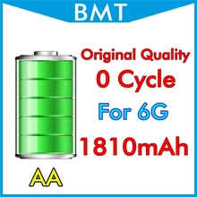 10pcs/lot Original Quality Battery 1810mAh 3.82V for iPhone 6 4.7″ 6G replacement Genuine 0 zero cycle BMTI6G0BTAA