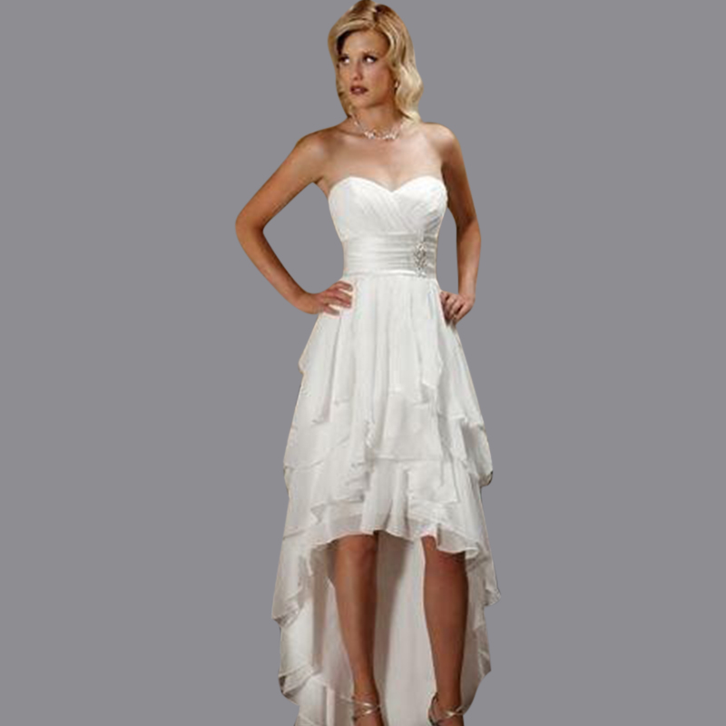 Vimans 2017 New Elegant Sweetheart Asymmetrical Cheap