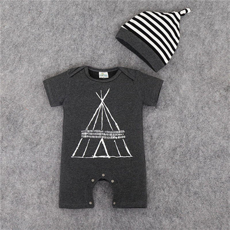 Baby Boy Rompers Summer Baby Girl Clothing Sets Short Sleeve Newborn Baby Clothes Roupa Bebes Infant Jumpsuit Baby Boys Clothes cotton i must go print newborn infant baby boys clothes summer short sleeve rompers jumpsuit baby romper clothing outfits set