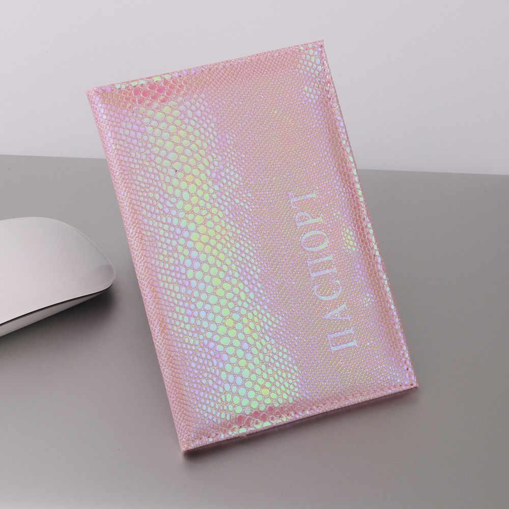 2019 lagarto pasaporte titular Protector cartera tarjeta de visita funda de pasaporte blanda viajes hombres billeteras mujeres titular de la tarjeta de crédito cubierta