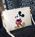 Women Hello Kitty Messenger Bags Minnie Mickey Bag Leather Handbags Clutch Bag Bolsa Feminina Mochila Bolsas Christmas Gift
