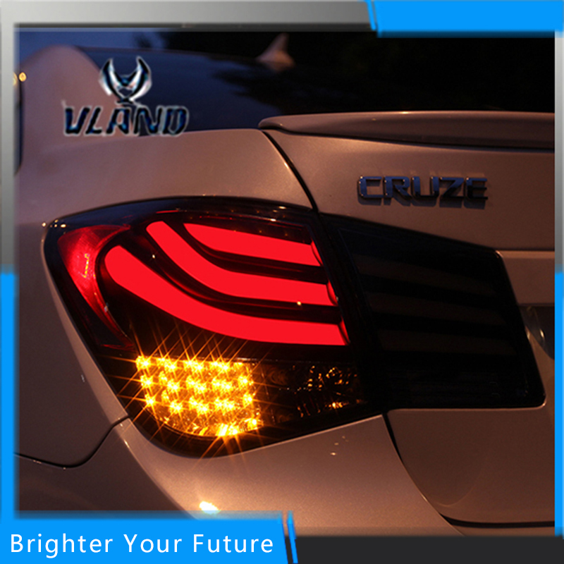 Авто светодиодные задние фонари задние лампы красный цвет для Шевроле Cruze 2010-2014 задние фонари